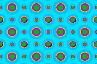 Background of Circle Shape Graphic By meisuseno