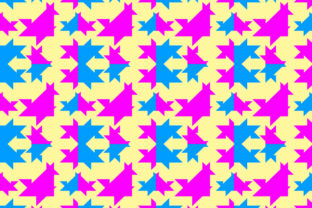 Background of Triangle Shape Graphic By meisuseno