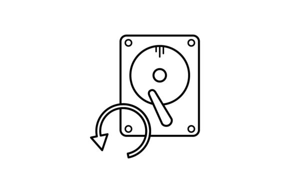 Print on Demand: Backup Graphic Icons By khld939