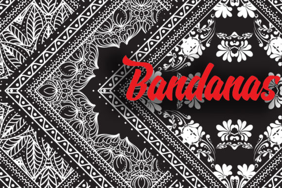Bandanas Big Bundle Graphic Illustrations By ilonitta.r