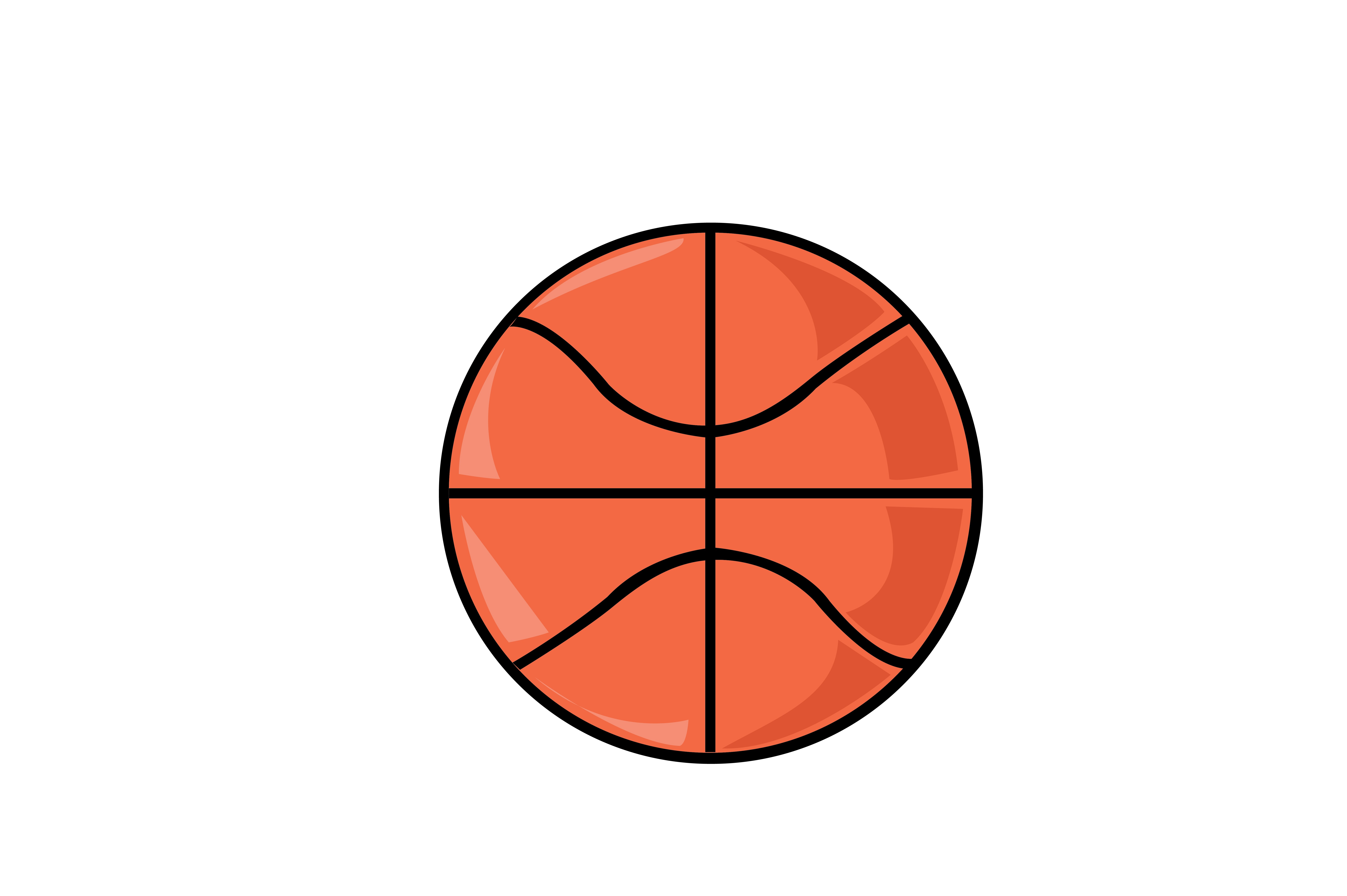 Download Free Basketball Graphic By Rfg Creative Fabrica for Cricut Explore, Silhouette and other cutting machines.