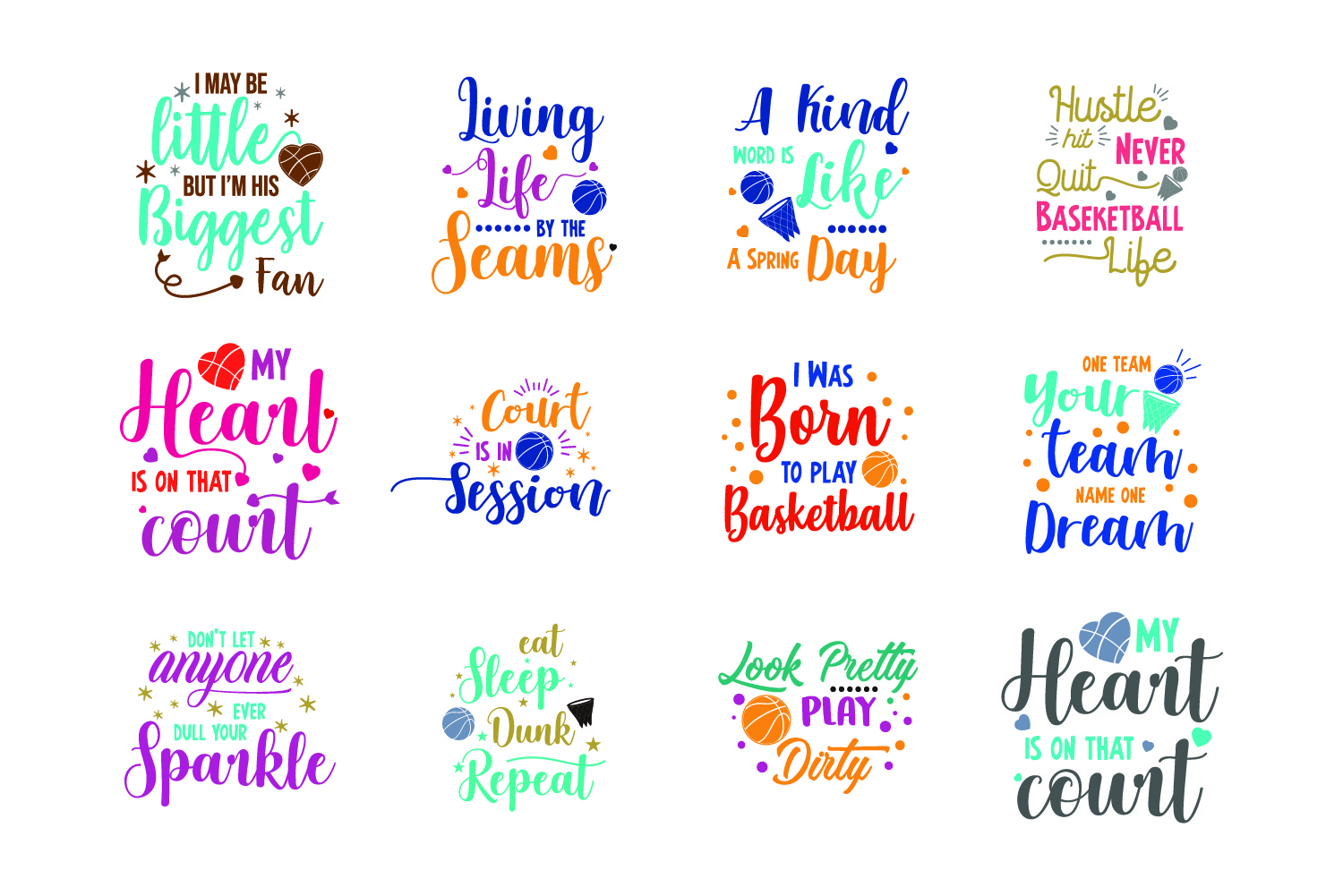 Download Free Basketball Bundle Graphic By Graphicrun123 Creative Fabrica for Cricut Explore, Silhouette and other cutting machines.