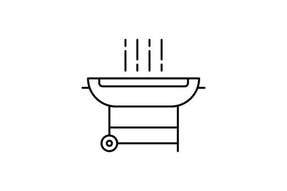 Print on Demand: Bbq Graphic Icons By khld939