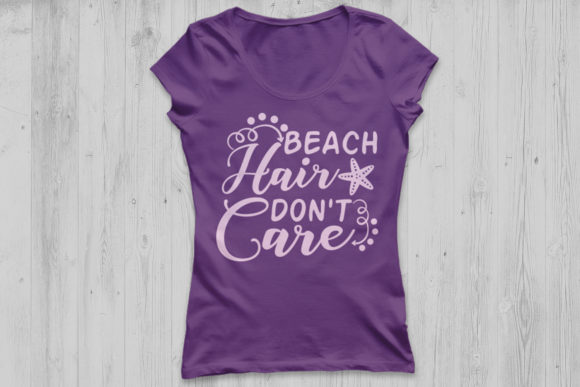 Download Free Beach Hair Don T Care Svg Graphic By Cosmosfineart Creative for Cricut Explore, Silhouette and other cutting machines.