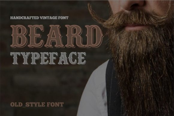 Print on Demand: Beard Serif Font By bywahtung