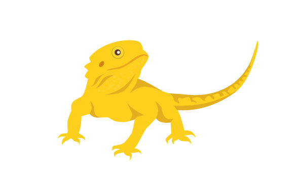 Download Free Bearded Dragon Svg Cut File By Creative Fabrica Crafts for Cricut Explore, Silhouette and other cutting machines.