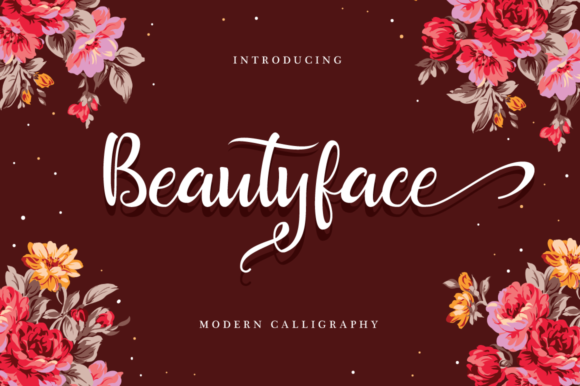 Print on Demand: Beautyface Script Script & Handwritten Font By riversidetypefoundry