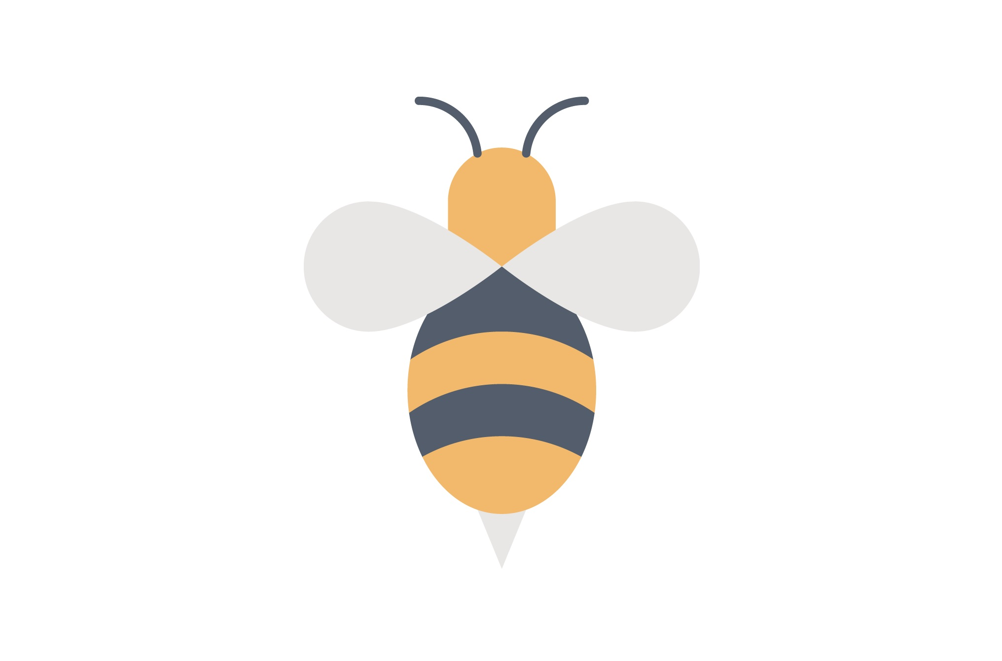 Download Free Bee Graphic By Iconika Creative Fabrica for Cricut Explore, Silhouette and other cutting machines.