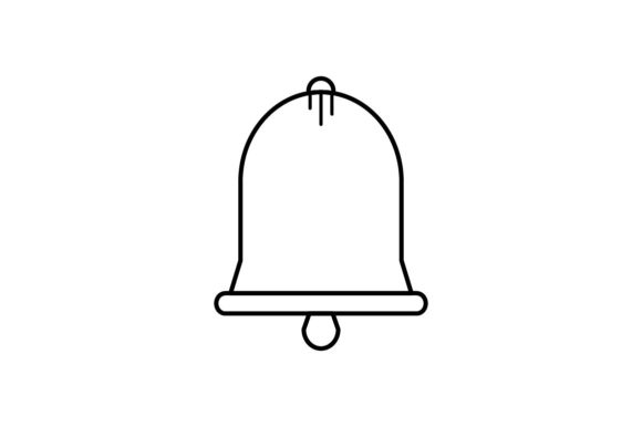 Download Free Bell Graphic By Khld939 Creative Fabrica for Cricut Explore, Silhouette and other cutting machines.