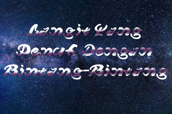 Print on Demand: Beng Beng Script & Handwritten Font By W INTEREST - Image 2