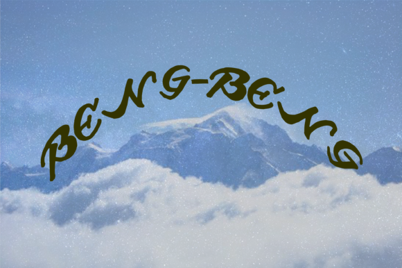 Print on Demand: Beng Beng Script & Handwritten Font By W INTEREST - Image 3