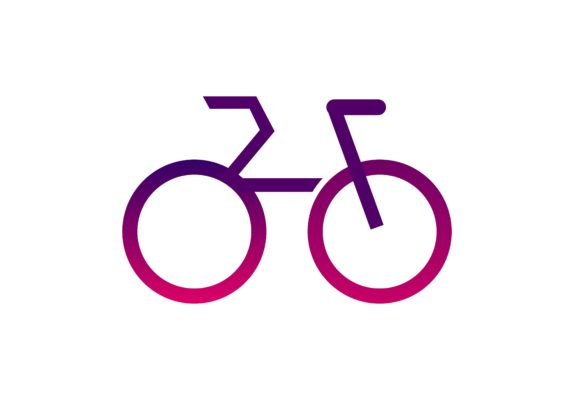 Download Free Bicycle Bike Logo Graphic By Deemka Studio Creative Fabrica for Cricut Explore, Silhouette and other cutting machines.