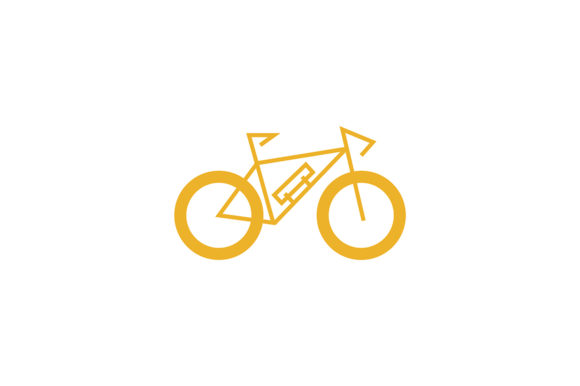 Bicycle Vector Icon Graphic Logos By Friendesigns