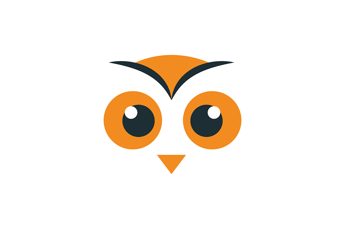 Download Free Big Eye Owl Icon Graphic By Friendesigns Creative Fabrica for Cricut Explore, Silhouette and other cutting machines.