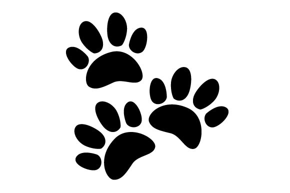 Big Paw Prints Craft Design By Creative Fabrica Crafts Image 1