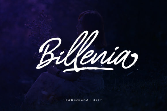 Print on Demand: Billenia Script & Handwritten Font By saridezra