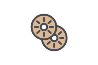 Download Free Biscuit Icon Graphic By Rudezstudio Creative Fabrica for Cricut Explore, Silhouette and other cutting machines.