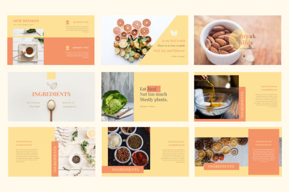 Bistro Restaurant Powerpoint Presentation Graphic Presentation Templates By TMint - Image 3