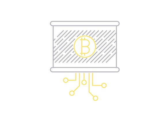 Print on Demand: Bitcoin Report Graphic Icons By Iconika