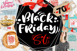 Black Friday Christmas Bundle Graphic By Happy Letters