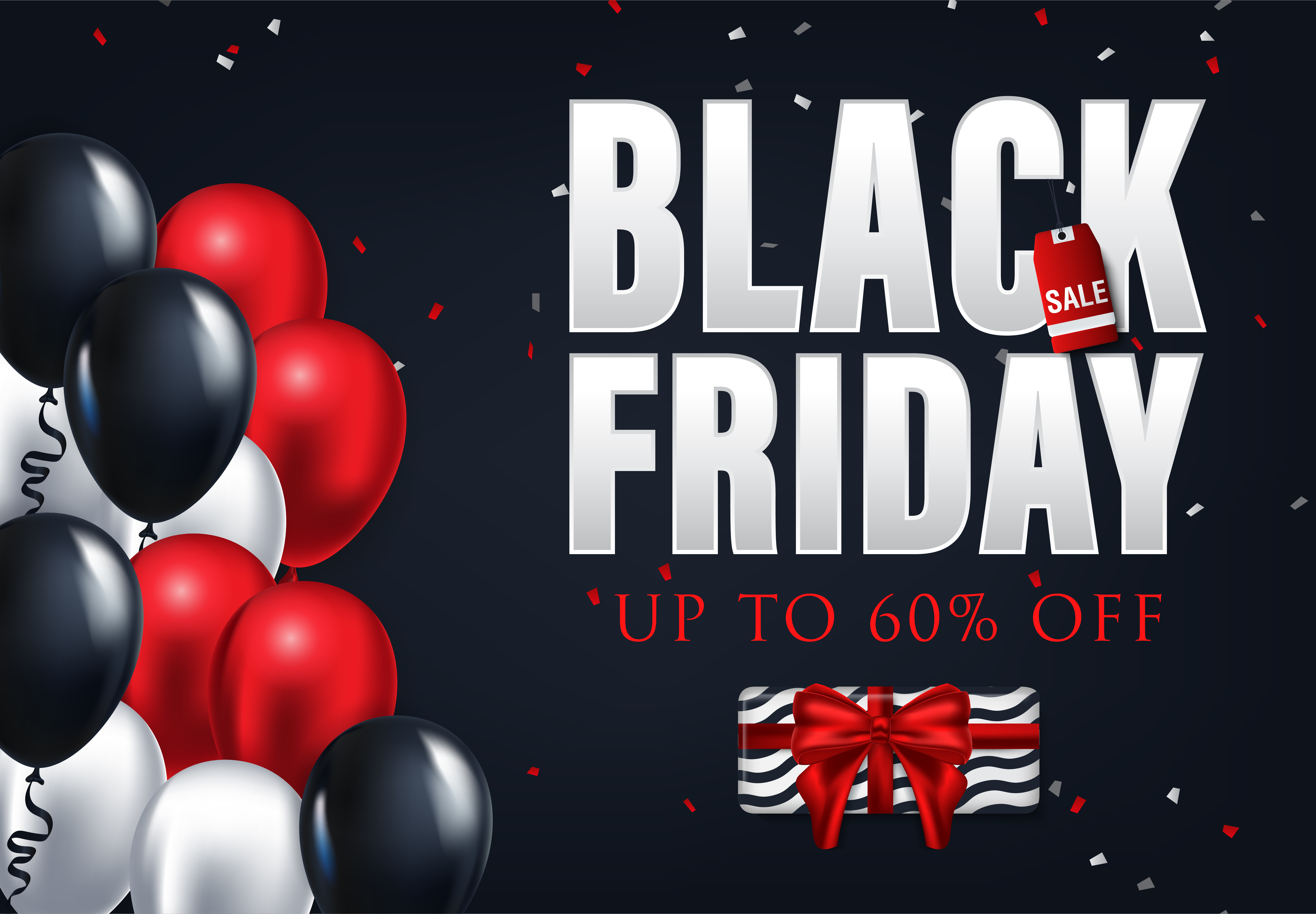 Black Friday Sale Flyers Collection Graphic By Inkwellapp Creative Fabrica