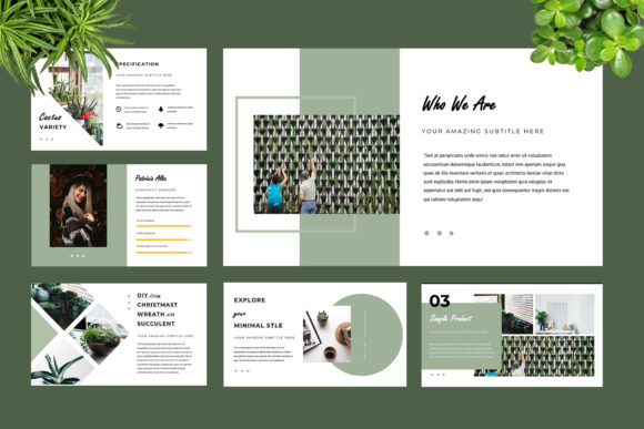 Botany Powerpoint Presentation Graphic Presentation Templates By TMint - Image 3