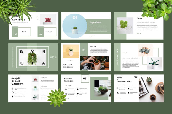 Botany Powerpoint Presentation Graphic Presentation Templates By TMint - Image 4
