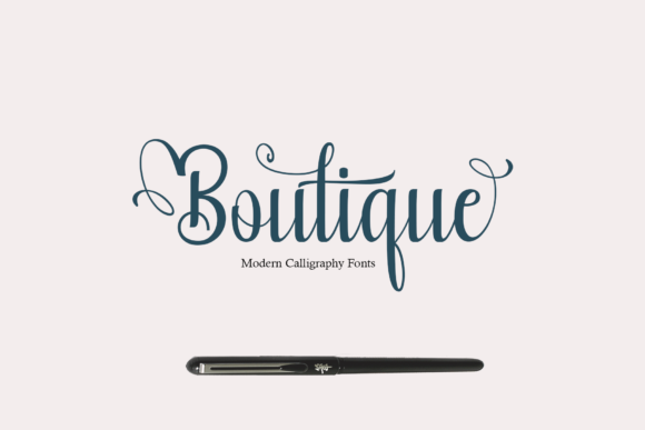 Print on Demand: Boutique Script & Handwritten Font By Rt Creative