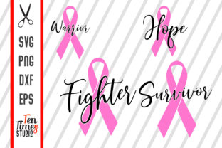 Breast Cancer Awareness Graphic Crafts By Ten Times Studio