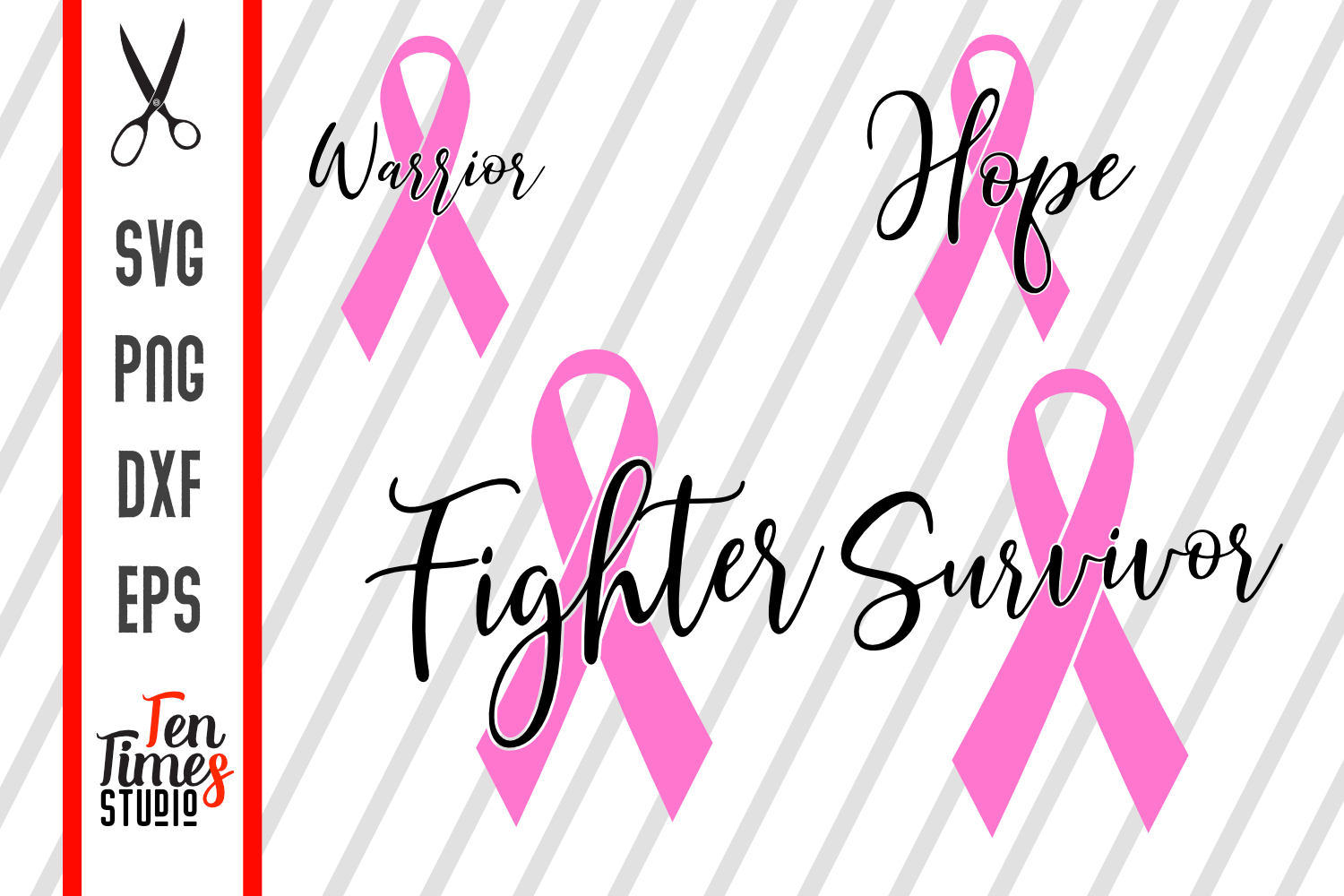 Download Free Breast Cancer Awareness Svg Graphic By Ten Times Studio SVG Cut Files