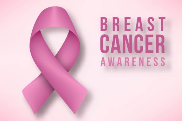 Breast Cancer Awareness Month Background Graphic By Ojosujono96