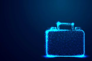 Briefcase Vector Background Graphic By ojosujono96