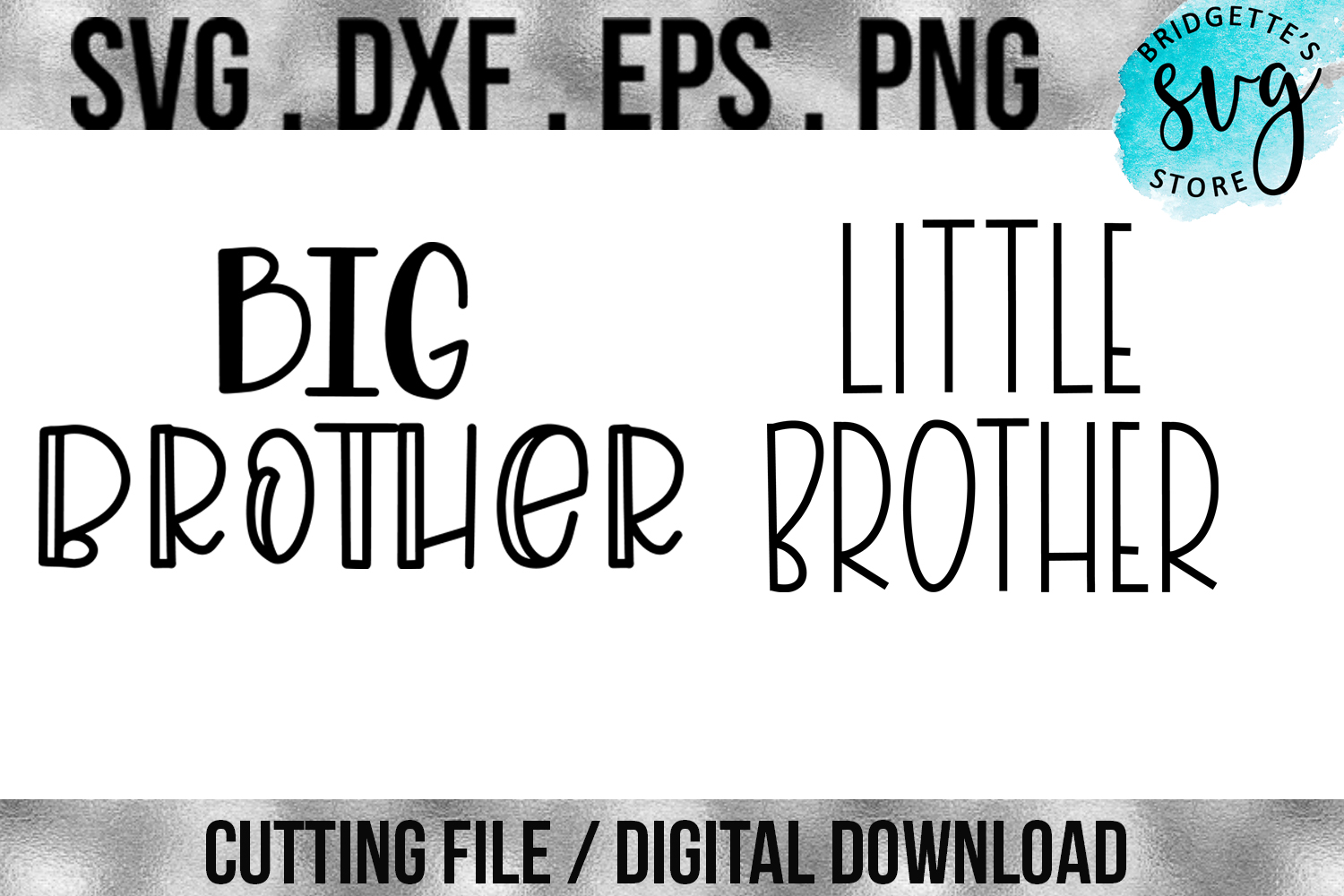 Brother Bundle Graphic By Luxmauve Creative Fabrica