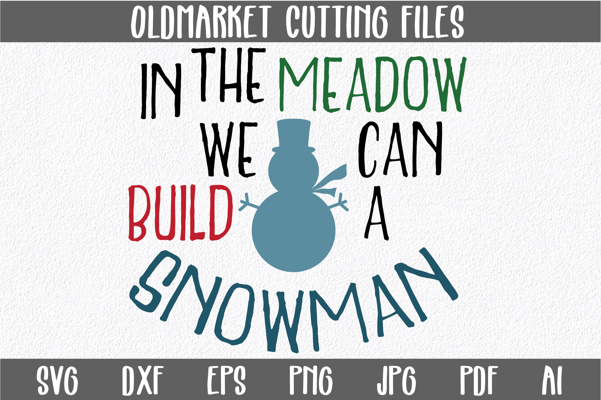 Download Free Build A Snowman Svg Cut File Graphic By Oldmarketdesigns for Cricut Explore, Silhouette and other cutting machines.