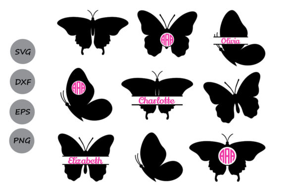 Download Free Butterfly Graphic By Cosmosfineart Creative Fabrica for Cricut Explore, Silhouette and other cutting machines.