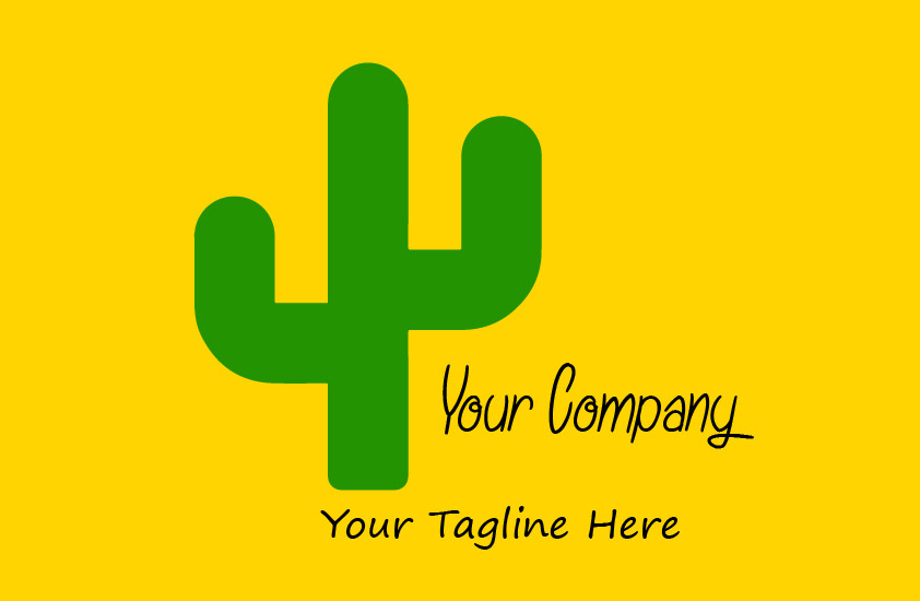 Download Free Cactus Logo Illustration Business Graphic By Mragilprasetyo123 for Cricut Explore, Silhouette and other cutting machines.