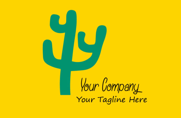 Download Free Cactus Logo Illustration Graphic By Mragilprasetyo123 Creative for Cricut Explore, Silhouette and other cutting machines.