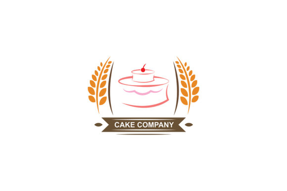 Download Free Cake Logo Graphic By Friendesigns Creative Fabrica for Cricut Explore, Silhouette and other cutting machines.