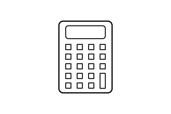 Print on Demand: Calculator Graphic Icons By khld939