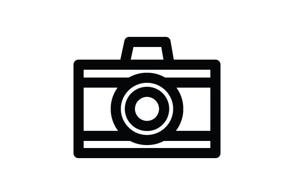 Download Free Camera Icon Graphic By Rudezstudio Creative Fabrica for Cricut Explore, Silhouette and other cutting machines.
