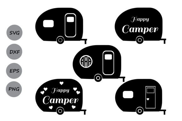 Print on Demand: Camper Graphic Crafts By CosmosFineArt