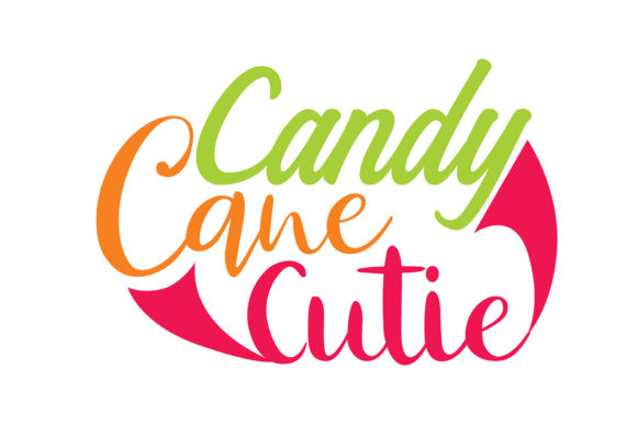 Download Free Candy Cane Cutie Graphic By Thelucky Creative Fabrica for Cricut Explore, Silhouette and other cutting machines.