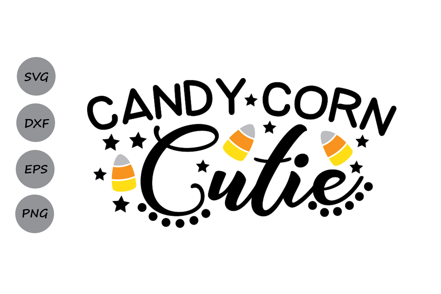 Download Free Candy Corn Cutie Svg Graphic By Cosmosfineart Creative Fabrica for Cricut Explore, Silhouette and other cutting machines.