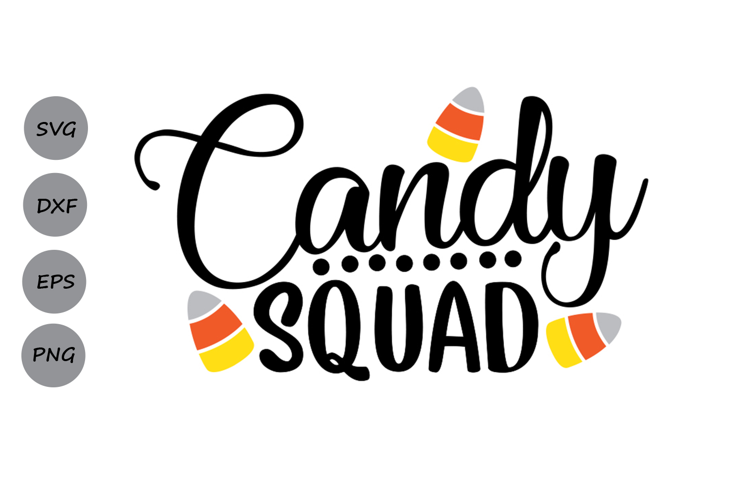 Download Free Candy Squad Graphic By Cosmosfineart Creative Fabrica for Cricut Explore, Silhouette and other cutting machines.