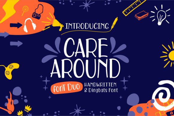 Print on Demand: Care Around Script & Handwritten Font By Dani (7NTypes)