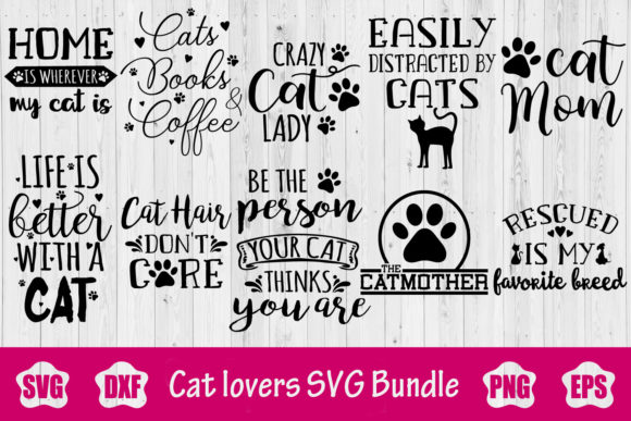 Cat Bundle Graphic Crafts By creativespace