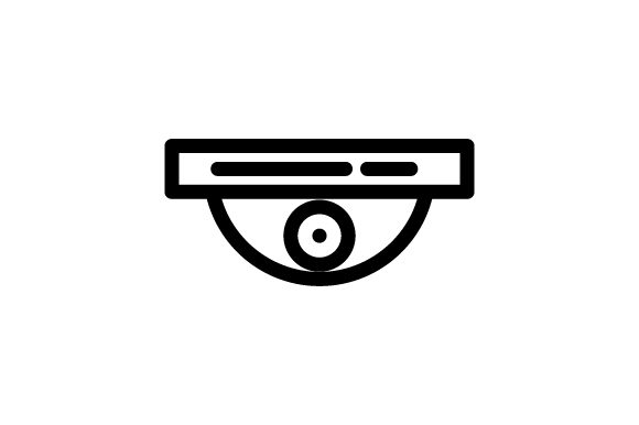 Download Free Cctv Icon Graphic By Rudezstudio Creative Fabrica for Cricut Explore, Silhouette and other cutting machines.