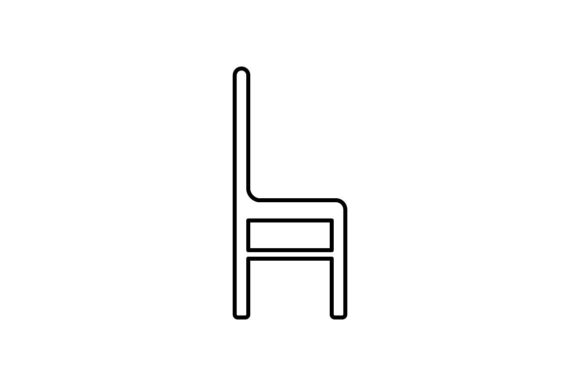 Print on Demand: Chair Graphic Icons By khld939