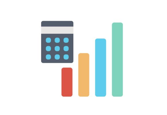 Print on Demand: Chart Report Graphic Icons By Iconika