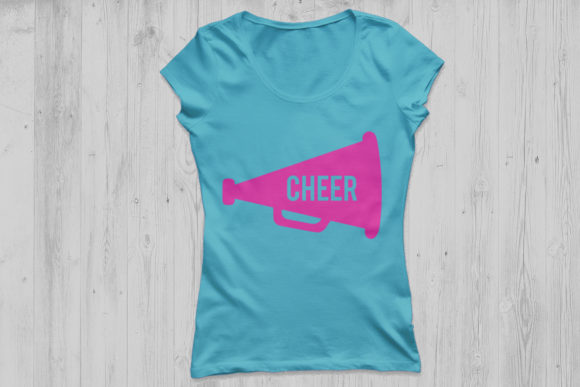 Download Free Cheer Megaphone Graphic By Cosmosfineart Creative Fabrica for Cricut Explore, Silhouette and other cutting machines.